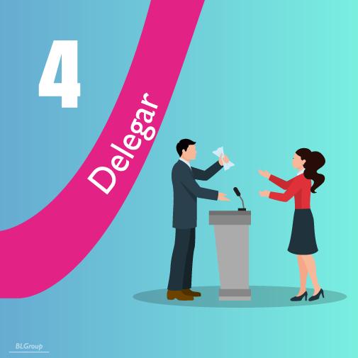BLGroup Pasos para Delegar