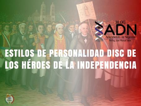 Estilos de Personalidad DISC de los Héroes de la Independencia