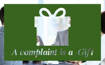 BLGroup A Complaint is a Gift