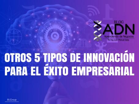 Otros 5 Tipos de Innovación para el Éxito Empresarial