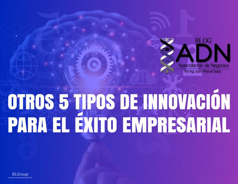BLGroup Otros 5 Tipos de Innovación para el Éxito Empresarial