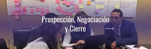 Prospección, Negociación y Cierre
