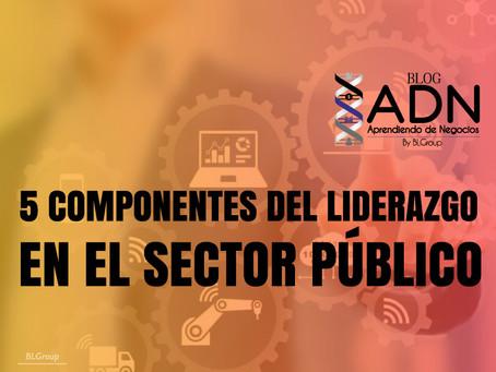 5 Componentes del Liderazgo en el Sector Público
