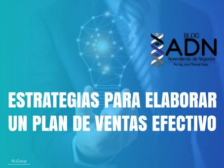 Estrategias Para Elaborar Un Plan De Ventas Efectivo