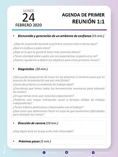 BLGroup Agenda Reunión 1 a 1
