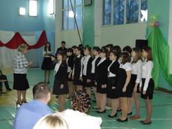 2014 Выступление хора младших классов (0