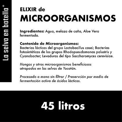 MICROORGANISMOS / 45 litros