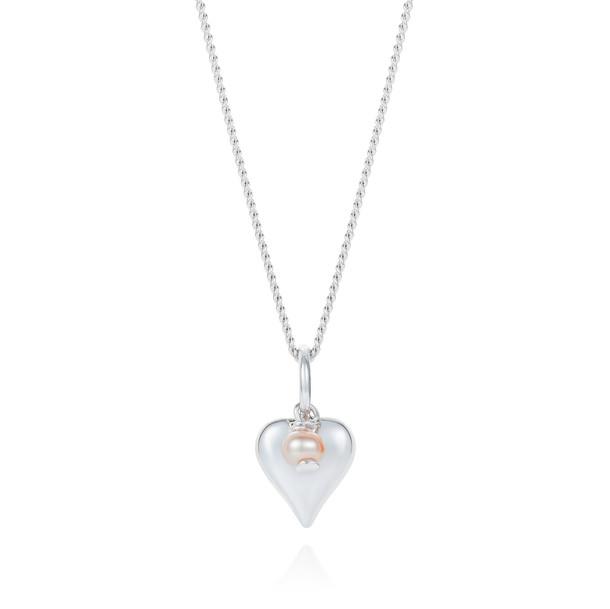 Signature Heart Necklace Silver CBNL0175 £145