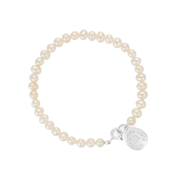 The World Is Your Oyster Pearl Bracelet CBBR0097 £95
