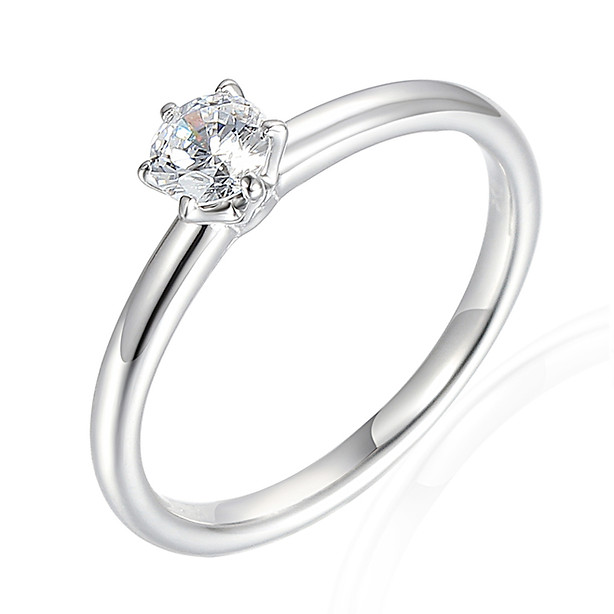 White Gold Diamond Solitaire 0.33ct