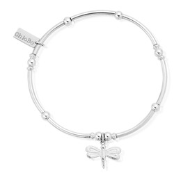 MINI NOODLE BALL DRAGONFLY BRACELET 925 Sterling Silver Product Code: SBMNB402  £66.00