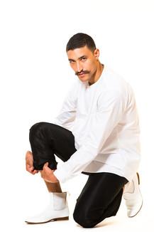 Hemd kragenlos / Jogginghose