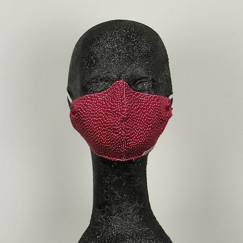 MN-Gesichtsmaske Bordeaux