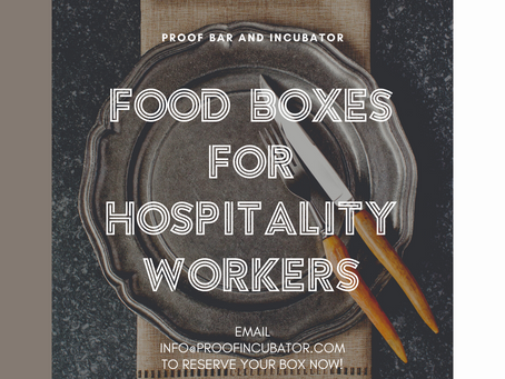 Food Boxes For Hospitality Professionals - Week 2!
