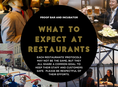 What to Expect at Restaurants