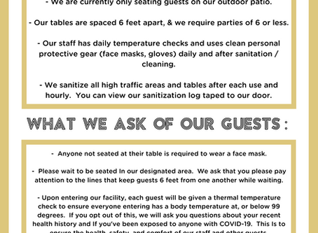 PROOF'S GUEST GUIDELINES