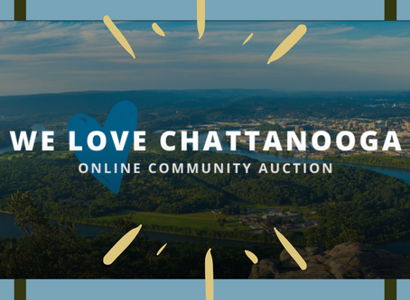 We Love Chattanooga Auction!  By Chattanooga Tourism Co. + River City Company!