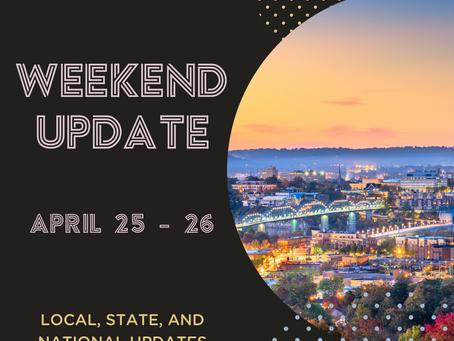 Weekend Update | April 25 - 26