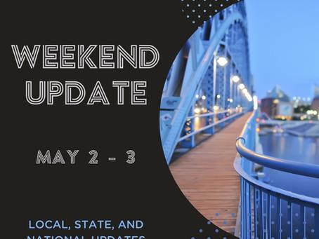 Weekend Update | May 2 - 3
