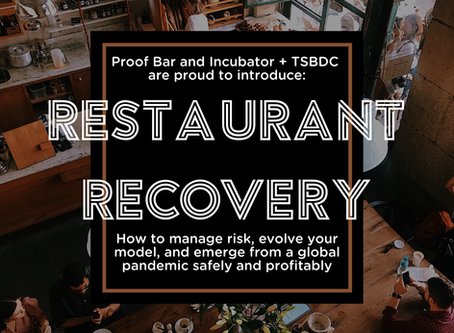 Introducing: Our Restaurant Recovery Course!