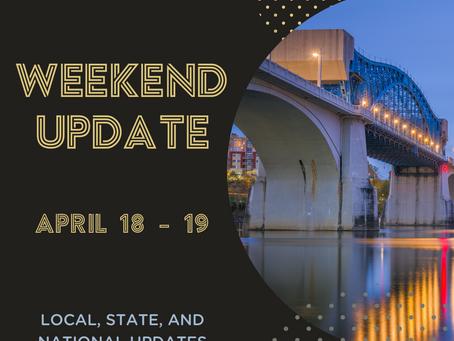 Weekend Update  |  April 18 - 19