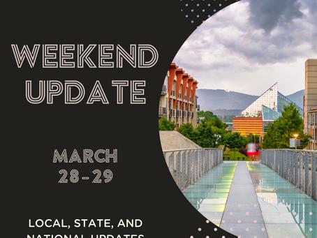 Weekend Update | March 28 - 29