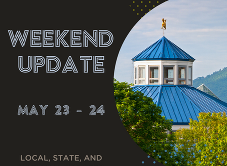 Weekend Update | May 23 - 24