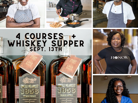 *Virtual* 4 Courses and Whiskey Supper - Sunday, September 13th