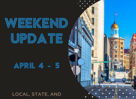 Weekend Update   April 4-5