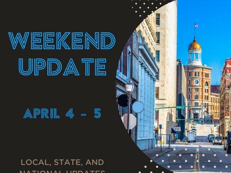 Weekend Update | April 4-5