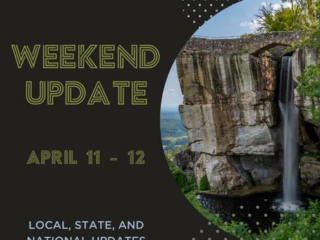 Weekend Update     April 11 - 12