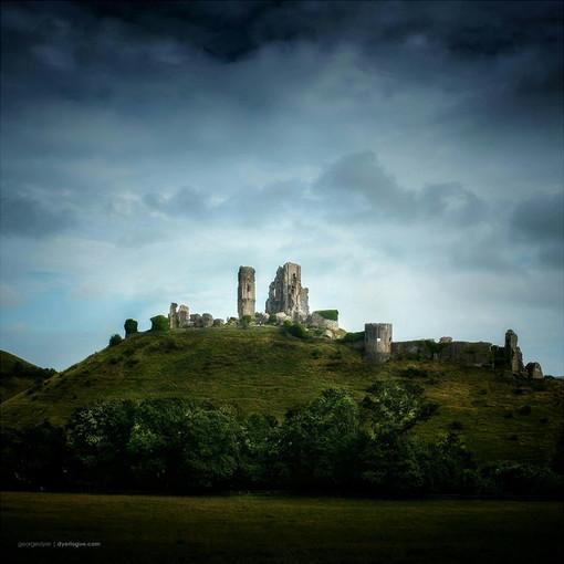 Corfe Castle (August)