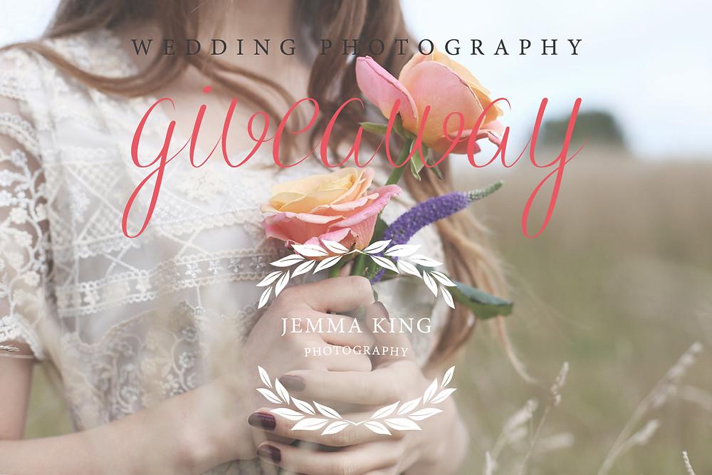 wedding photographer giveaway with Jemma King Photography