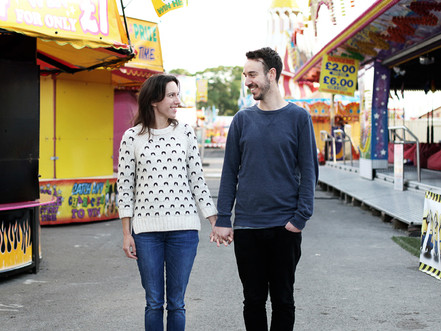 Hull Fair | Lisa and Joe's pre wedding photo shoot! (Sneak Peek)