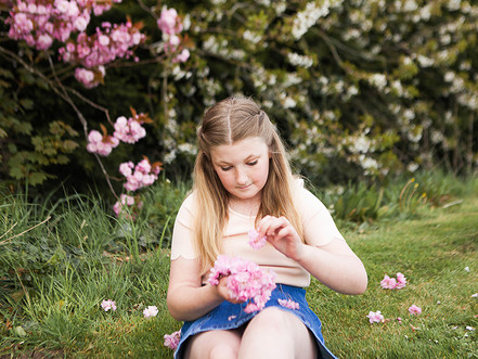 East Yorkshire | Location Photography Session | Blossom | Madeline