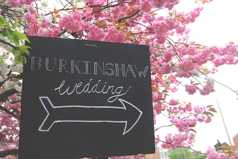 Joy and Mike's DIY wedding in East Yorkshire