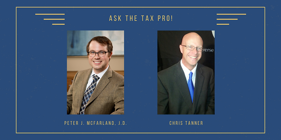 Ask The Tax Pro! (with New Direction Trust Co.)
