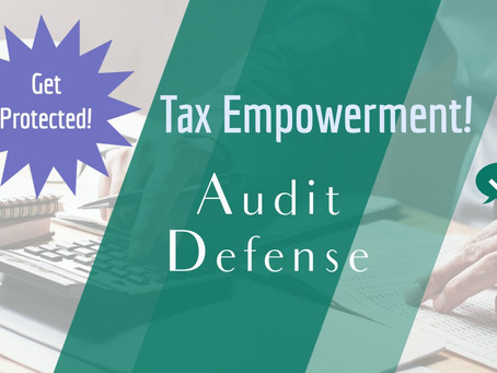 Audit Defense! Do You Dread an IRS Audit? Get Protected!