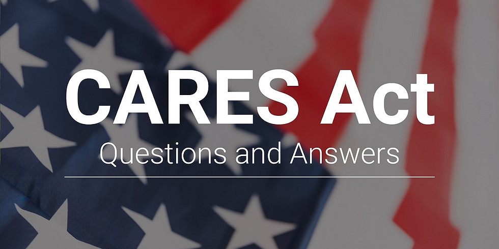 Webinar: CARES Act Tax Planning Opportunities with Stephanie Long