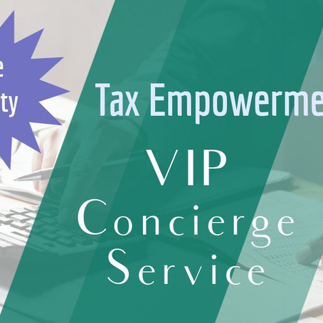 VIP Concierge Tax Services: The Royal Treatment!