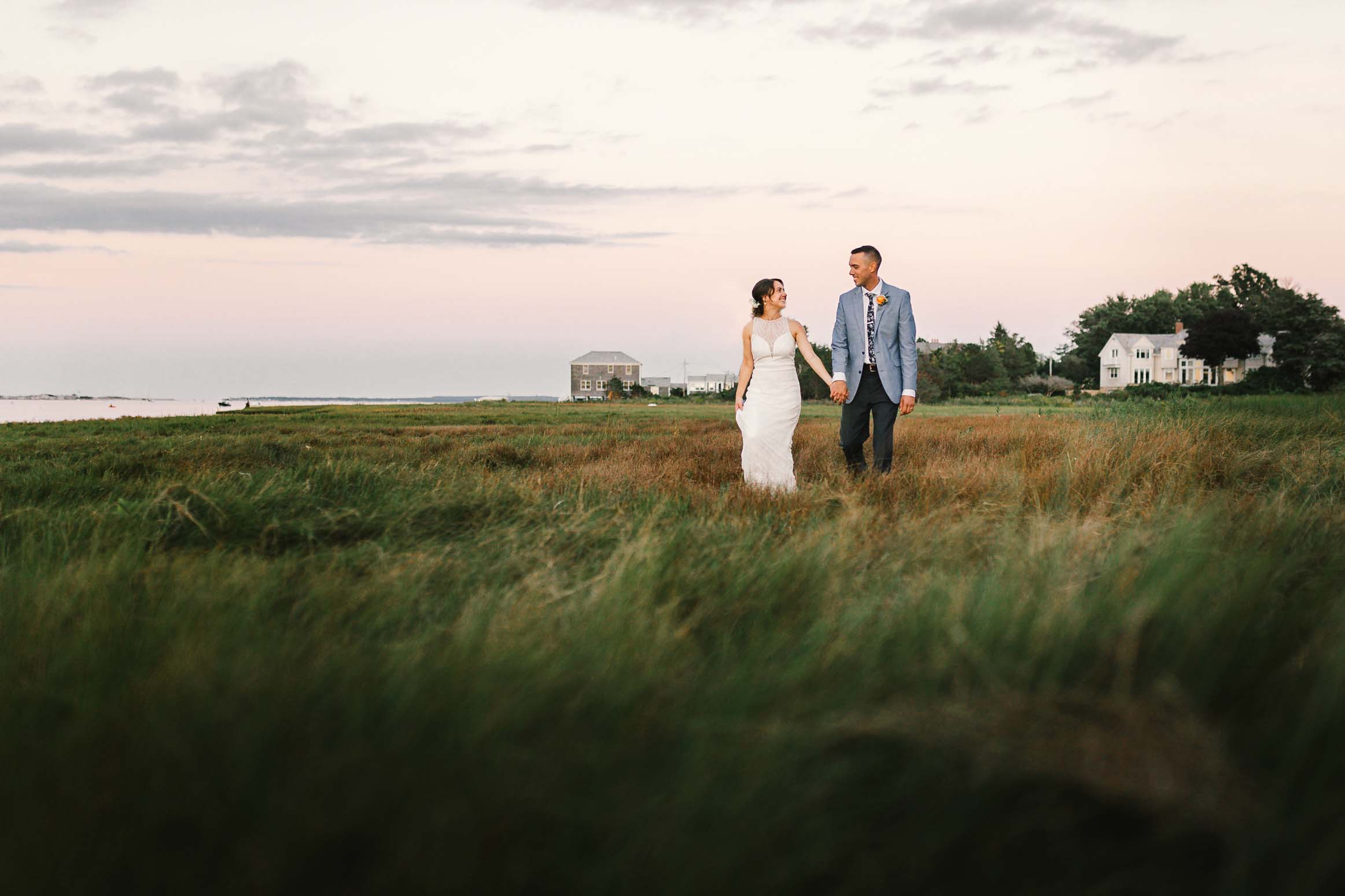 Backyard Cape Cod Wedding - Cape Cod, MA