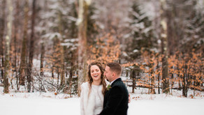 Christine and Eric's Fairy Tale Winter Wedding at the Mountain Top Inn