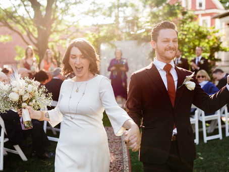 Katie and Xandre's Simple, Elegant Warehouse XI Wedding - Somerville, MA