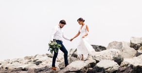 Victoria and Ian's Colt State Park Elopement - Rhode Island Wedding