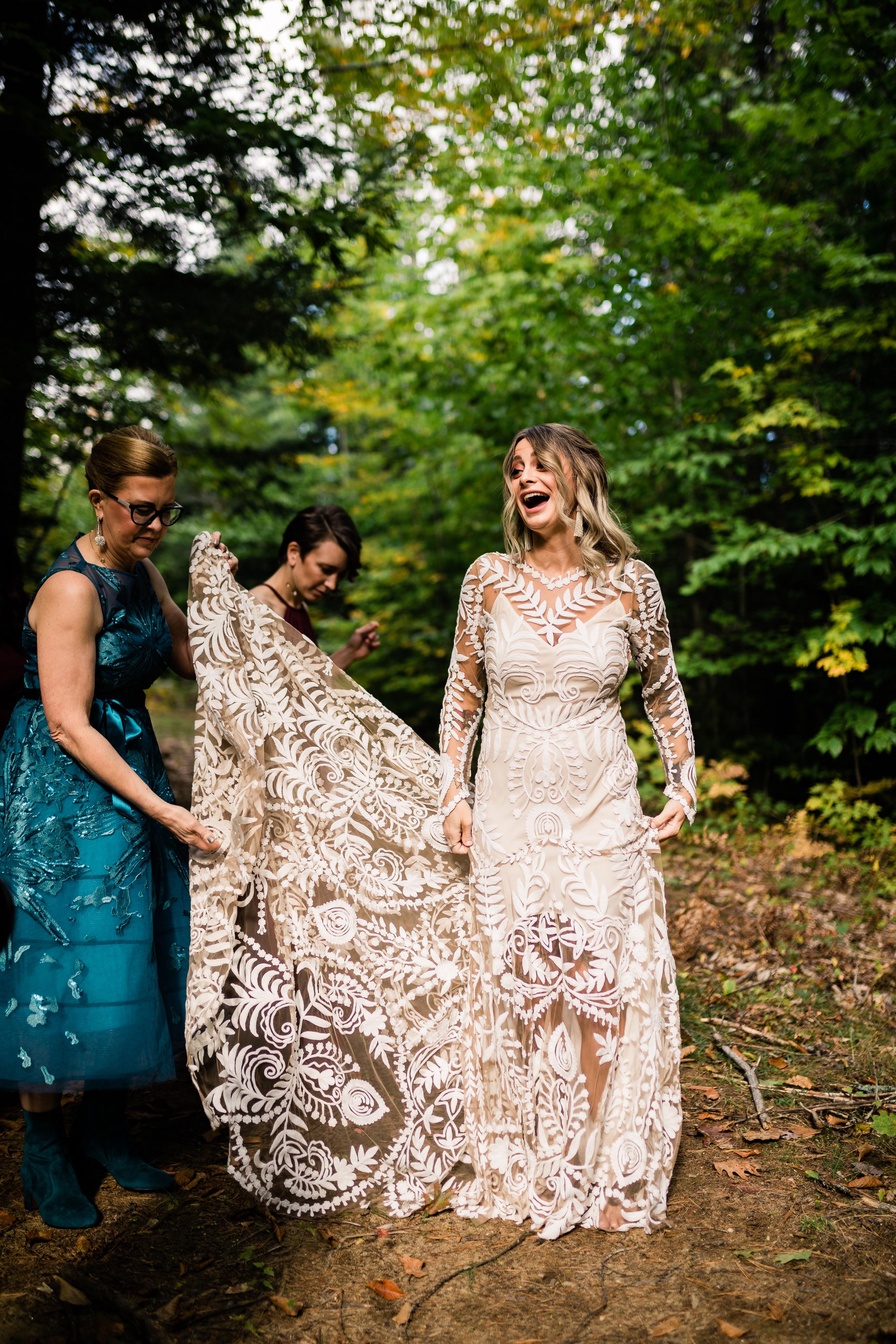 Mountain House on Sunday River Wedding - Newry, ME