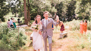 Anna and Charlie's Perfect Animal Sanctuary Ceremony at Rosasharn Farm - Rehoboth, MA Wedding