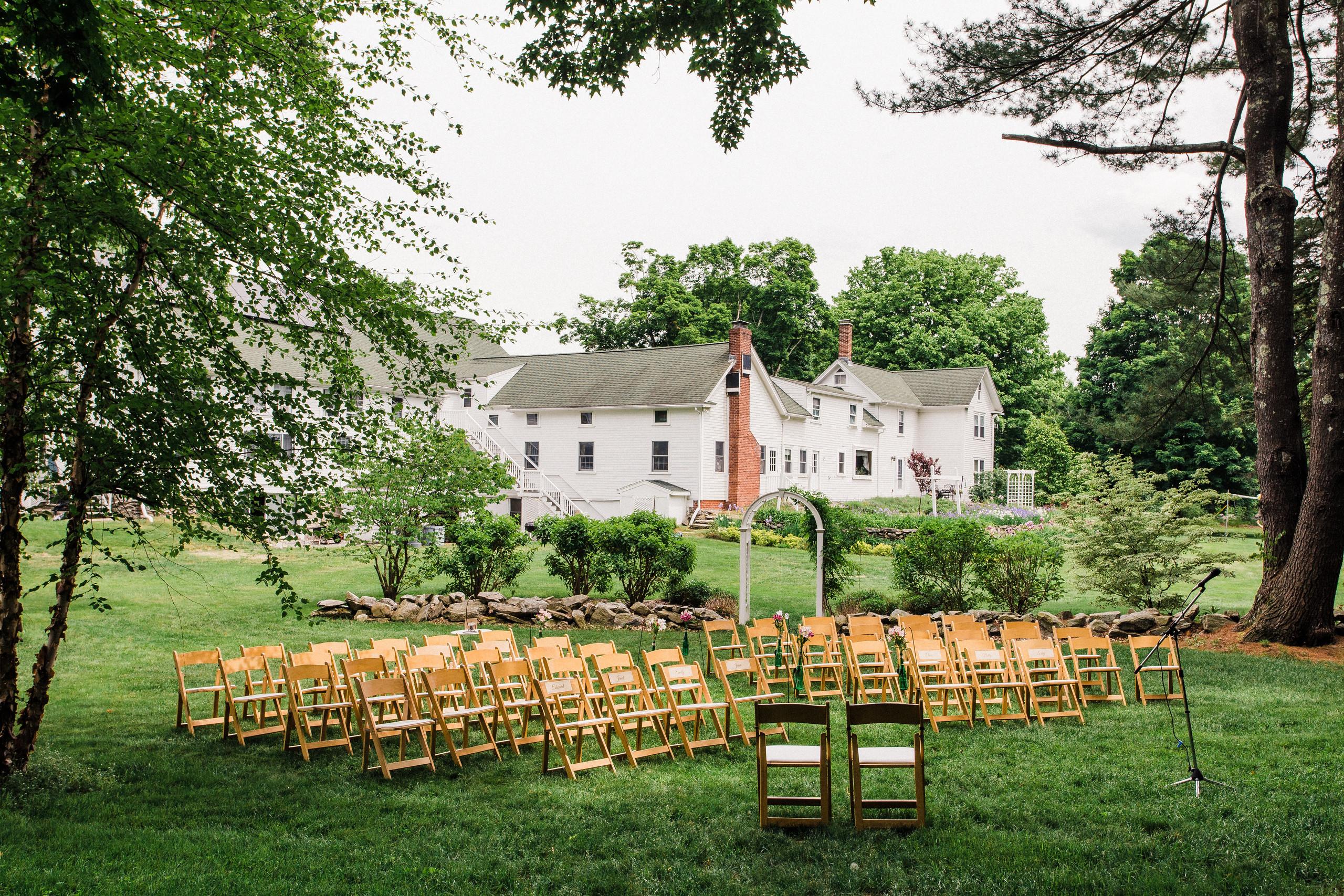 Friendly Crossways Wedding - Harvard, MA