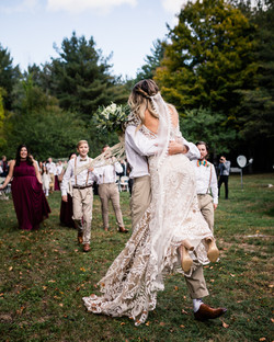 Mountain House Wedding - Newry, ME