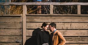 Jackson and Melinda's Charlestown, Massachusetts Engagement Session