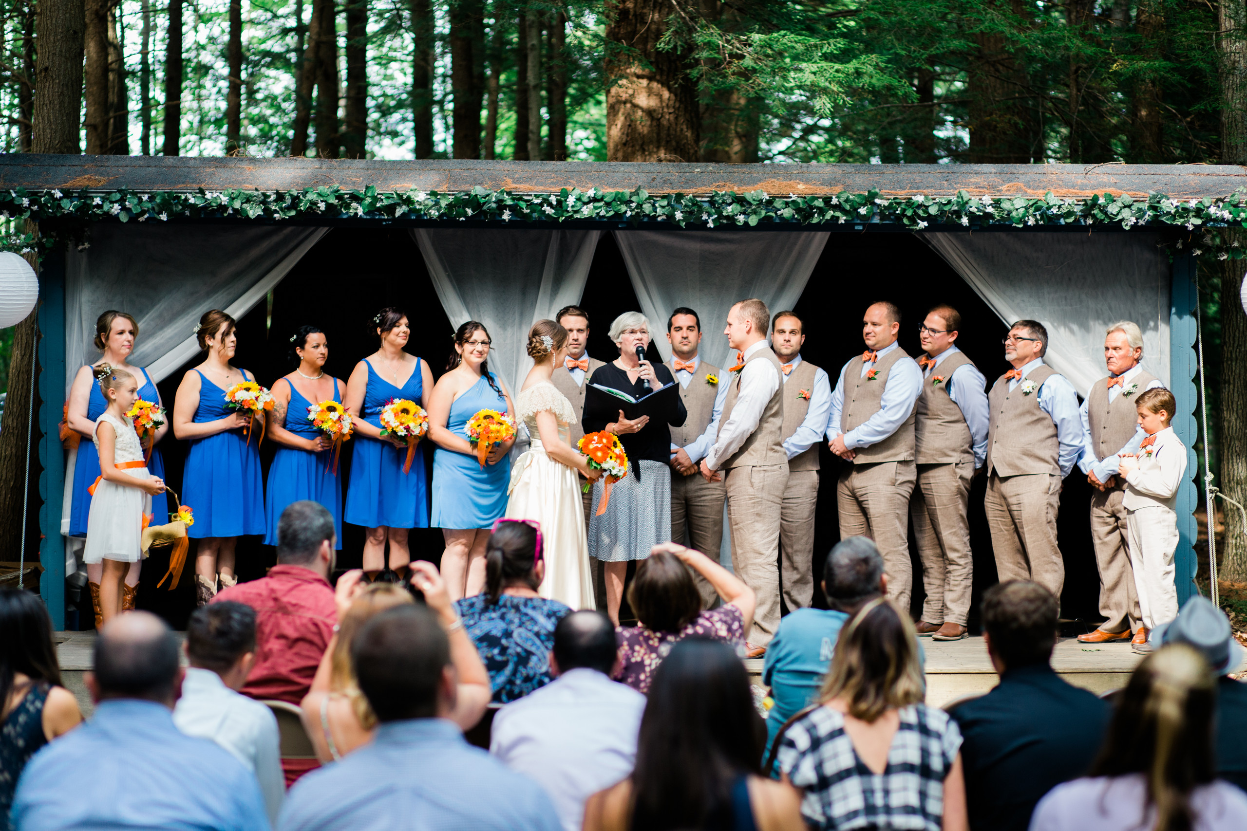 Sargent Center Wedding - Hancock, NH